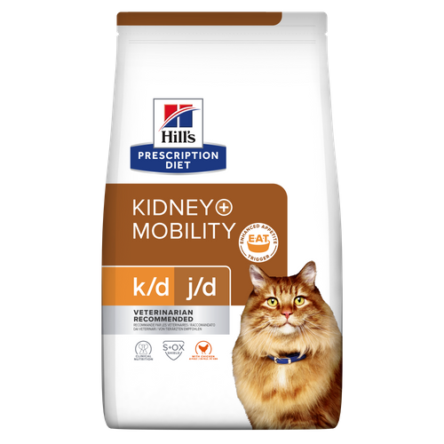 Hill's™ Prescription Diet™ k/d™ + Mobility Feline au Poulet